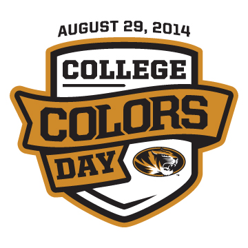 College Colors Day is August 29th!